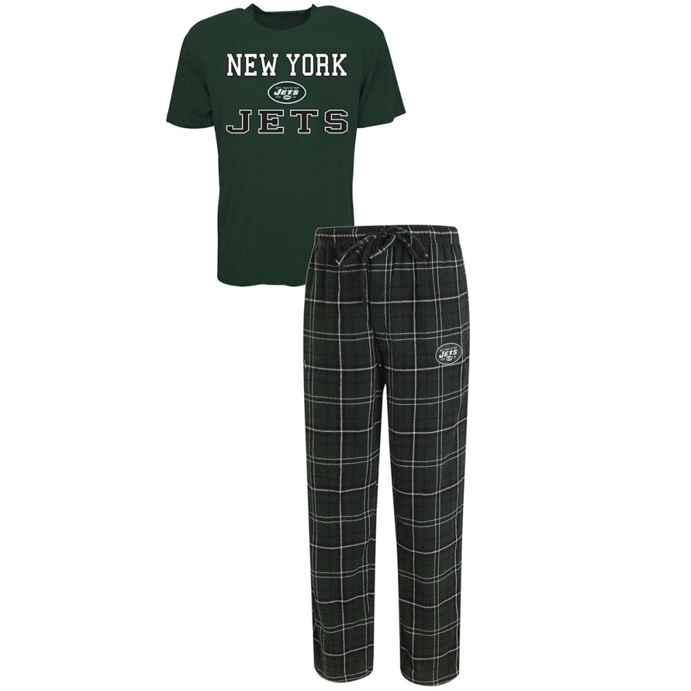 NEW YORK JETS Men's Halftime Sleep Set - GREEN