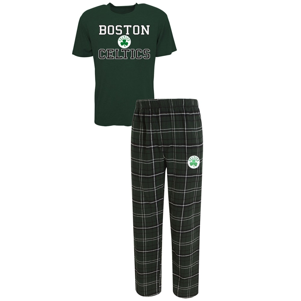 Boston Celtics Men's Halftime Sleep Set - Green, XL