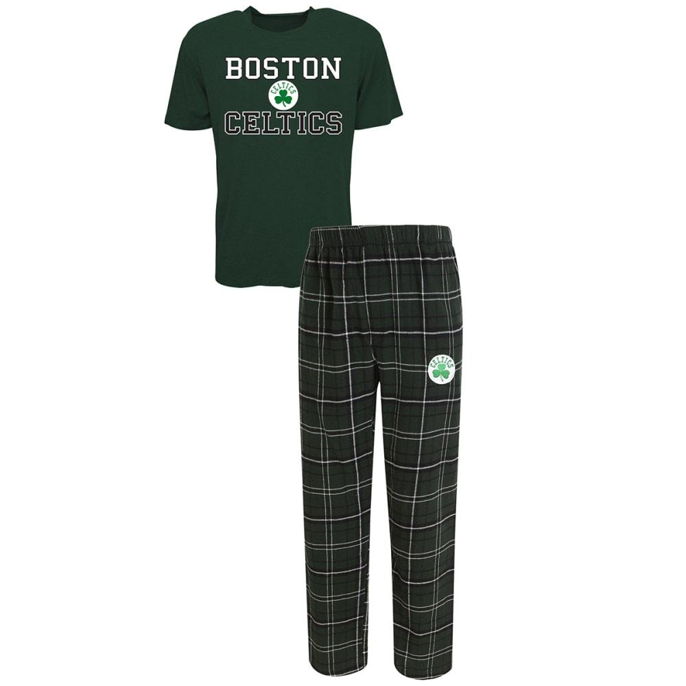 BOSTON CELTICS Men's Halftime Sleep Set - GREEN