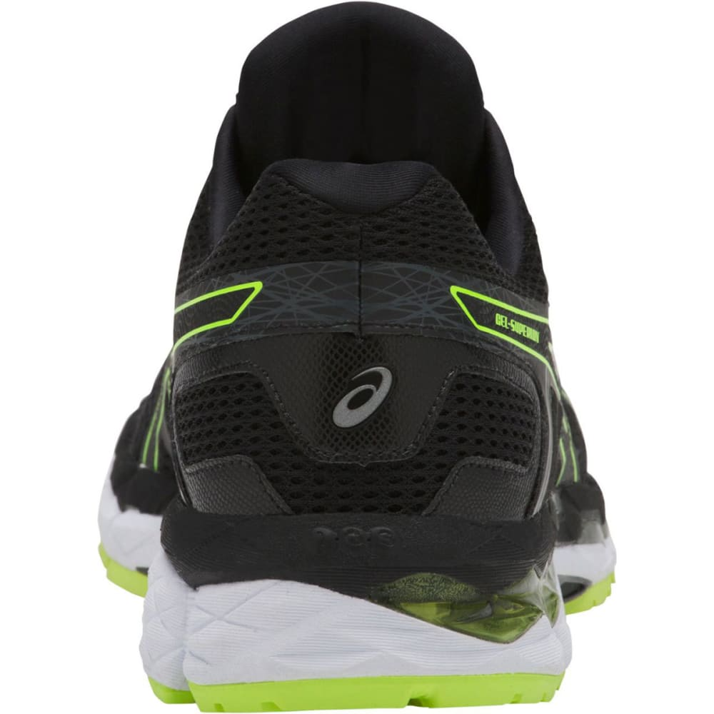 ASICS Men's Gel-Superion Running Shoes - BLACK