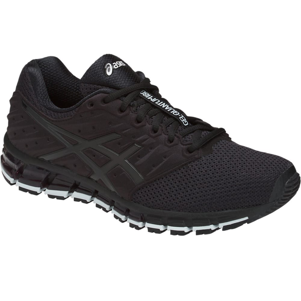 Asics Men's Gel-Quantum 180 2 Mx Running Shoes - Black, 8