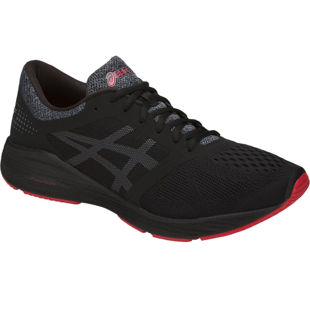 Asics Men's Roadhawk Ff Running Shoes - Black, 8