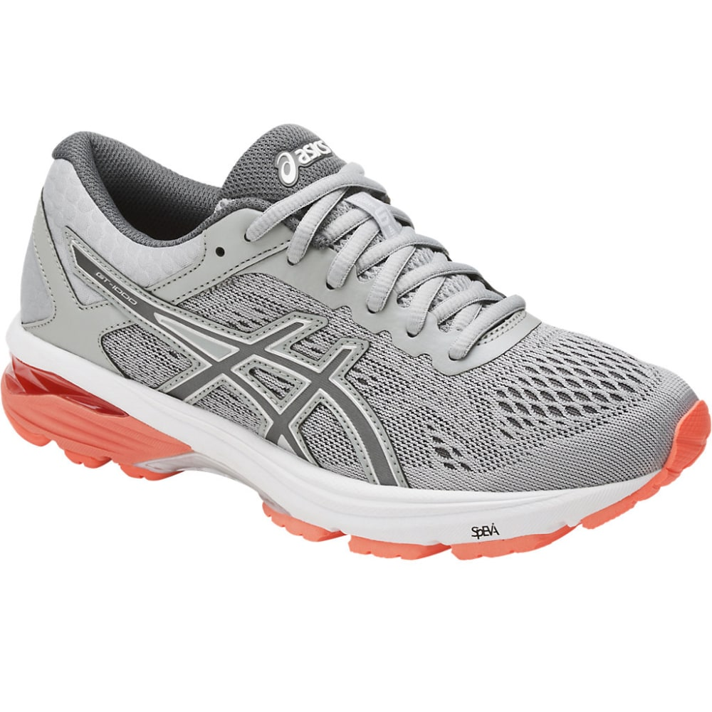 ASICS Women's GT-1000 6 Running Shoes - MID GREY