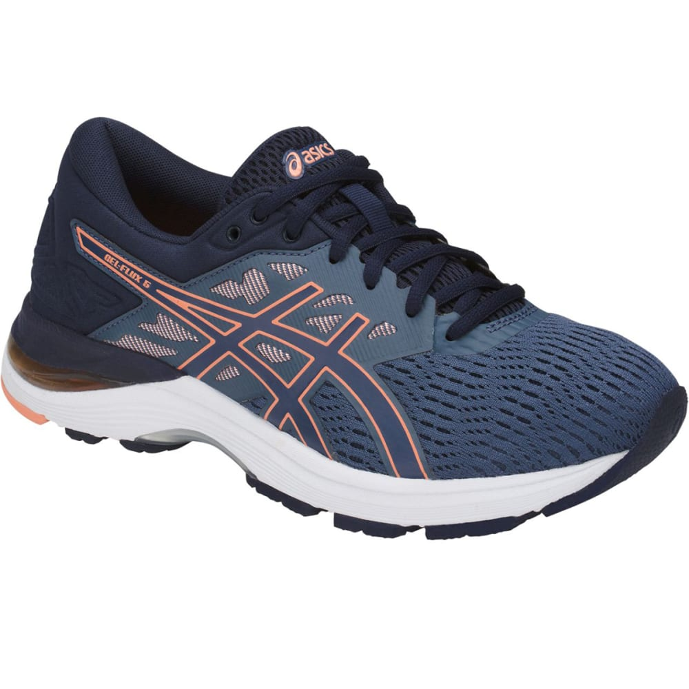 Asics Women's Gel-Flux 5 Running Shoes - Blue, 6