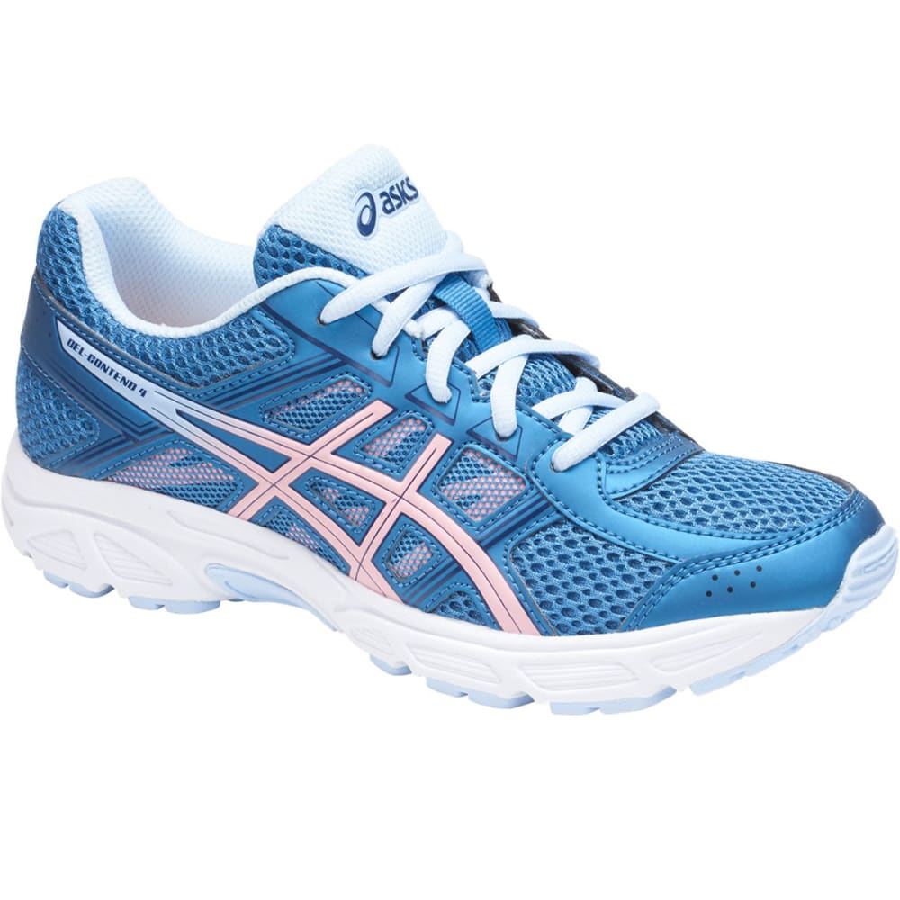 ASICS Girls' Grade School GEL-Contend 4 Running Shoes - AZURE - 401