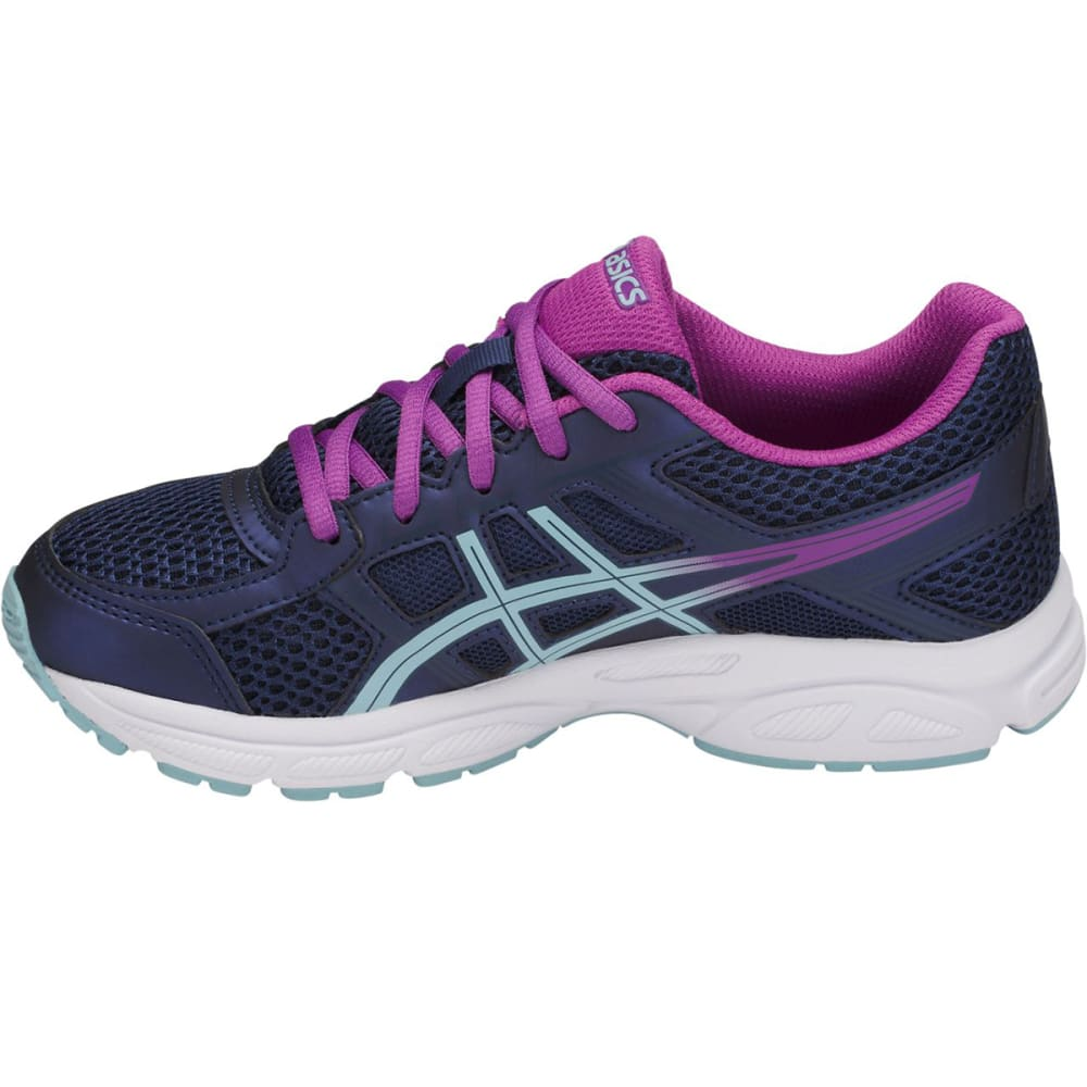 ASICS Girls' Grade School GEL-Contend 4 Running Shoes - INDIGO BLUE-4914