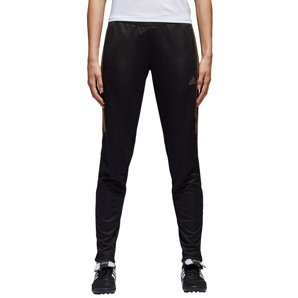 ADIDAS Women's Reflective Tiro 17 Active Pants - BLK/ROSEGOLD-DM2795