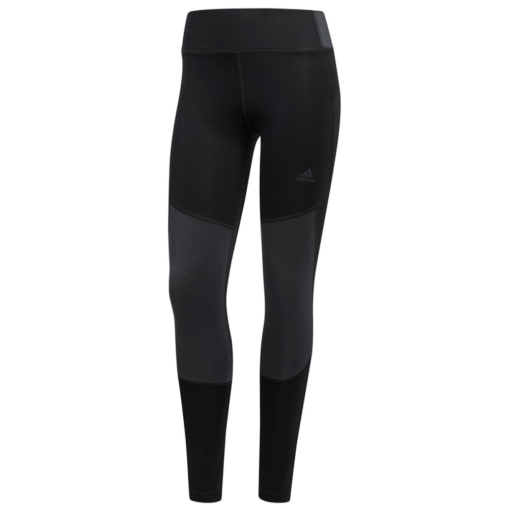 Adidas Women's Designed 2 Move Mid-Rise 7/8-Length Tights - Black, S