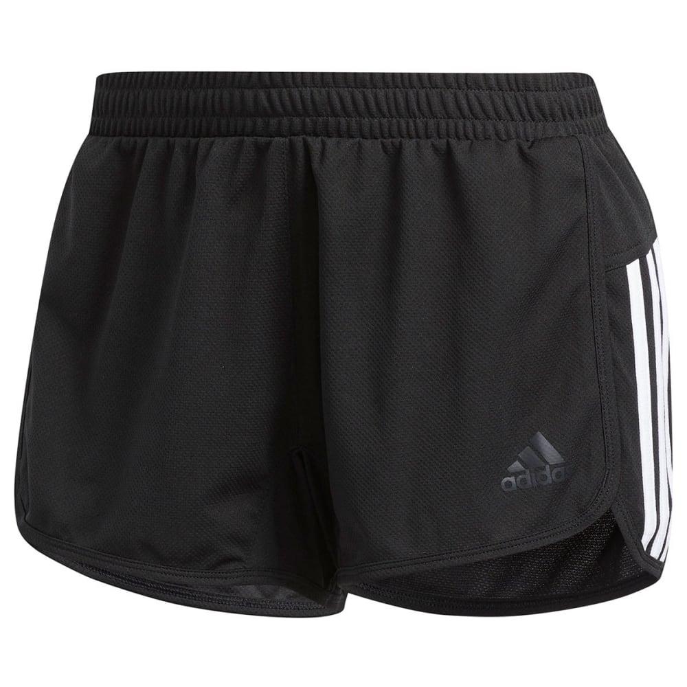 ADIDAS Women's D2M Knit Shorts - BLACK-CV3341