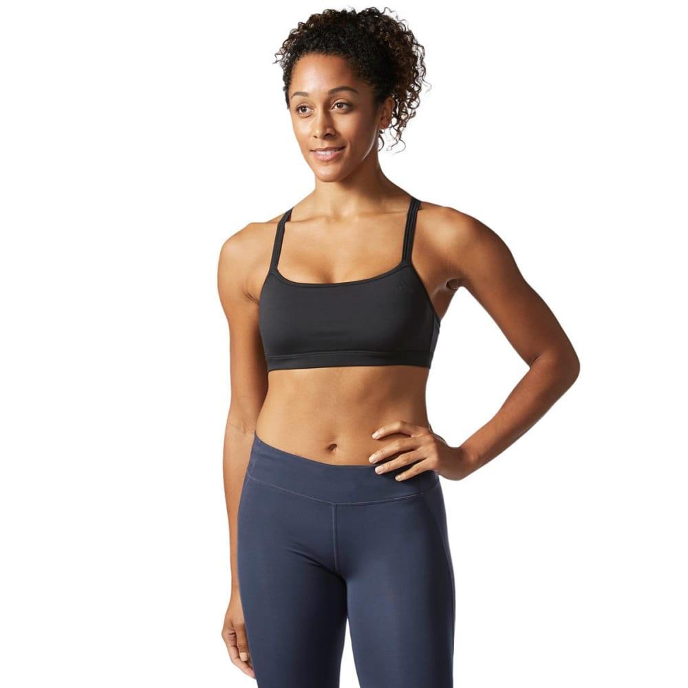 ADIDAS Women's Crossback Sports Bra - BLK/BLK-BP6116
