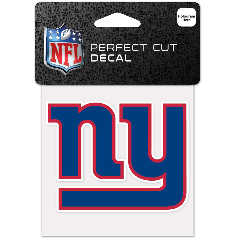 NEW YORK GIANTS Perfect Cut Color Decal - ROYAL BLUE