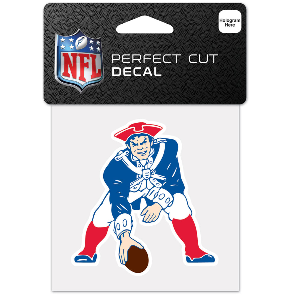 NEW ENGLAND PATRIOTS Pat Perfect Cut Color Decal - NAVY