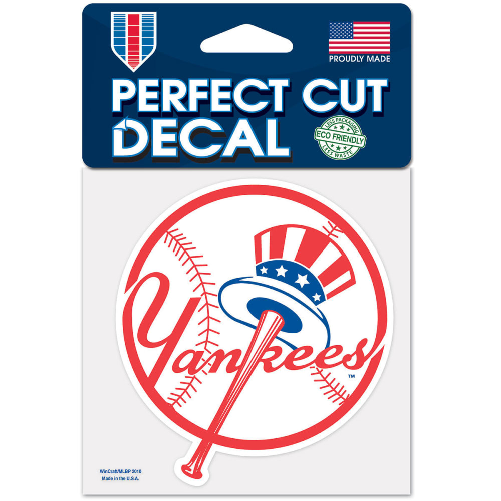NEW YORK YANKEES Perfect Cut Color Decal - NAVY