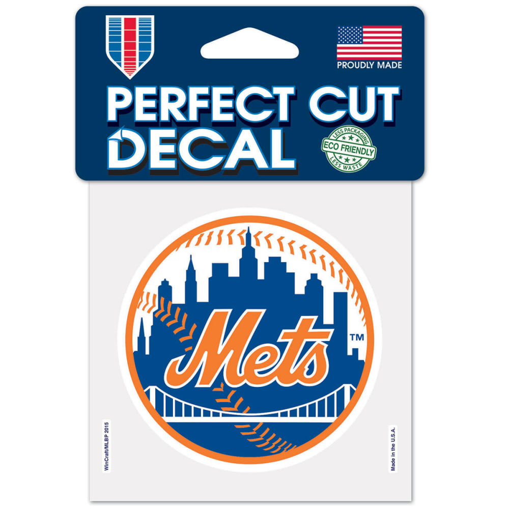 NEW YORK METS Perfect Cut Color Decal - ROYAL BLUE