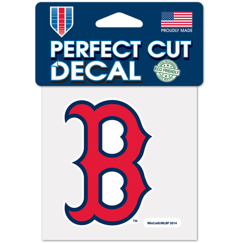 BOSTON RED SOX Perfect Cut Color Decal - RED