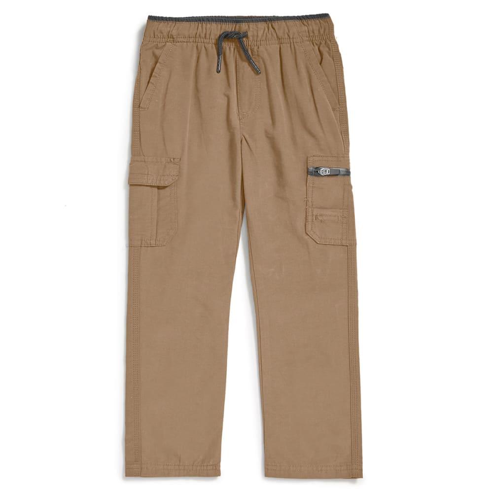 OCEAN CURRENT Boys' Athlete Cargo Pants - KHAKI