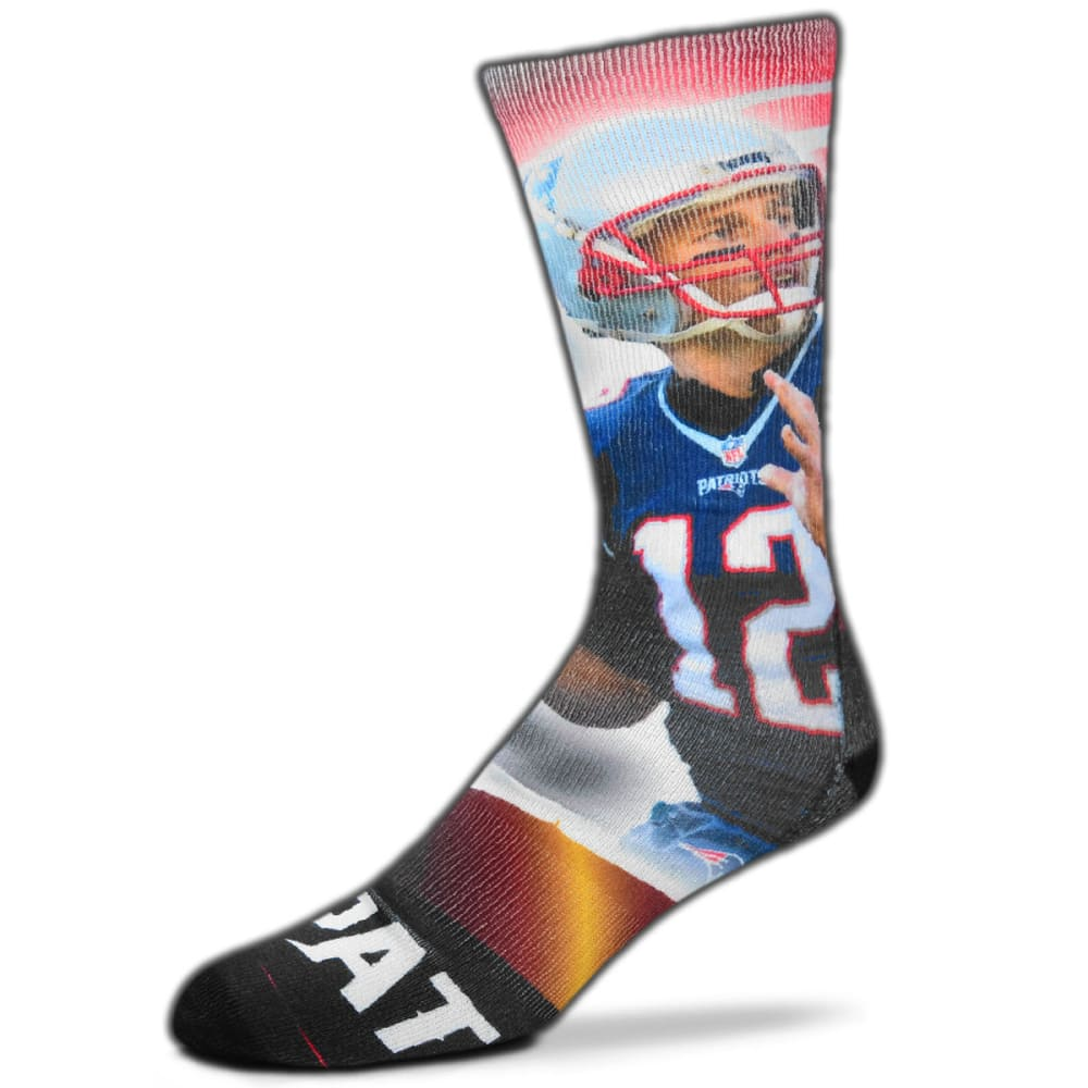 NEW ENGLAND PATRIOTS Tom Brady City Star Player Socks - NO COLOR
