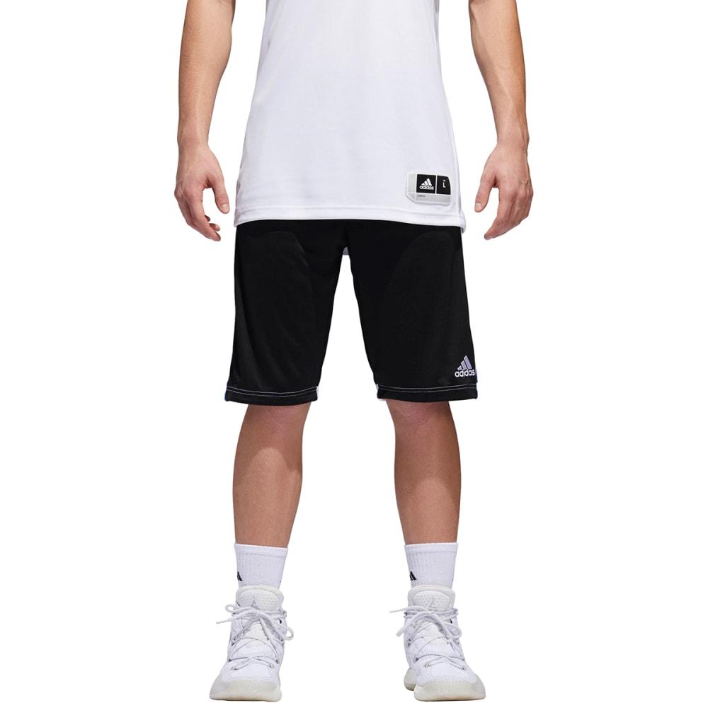 ADIDAS Men's 3G Speed Basketball Shorts - BLK/WHT-BQ9871