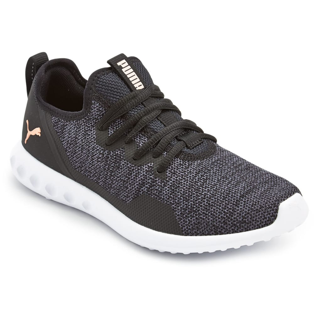 PUMA Women's Carson 2 Knit Running Shoes - BLACK