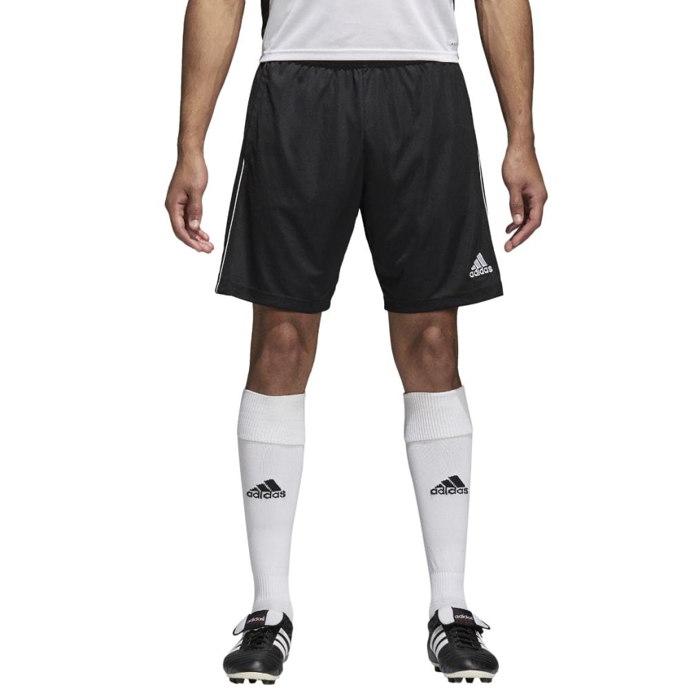 ADIDAS Men's Core 18 Training Shorts - BLACK/WHT-CE9031