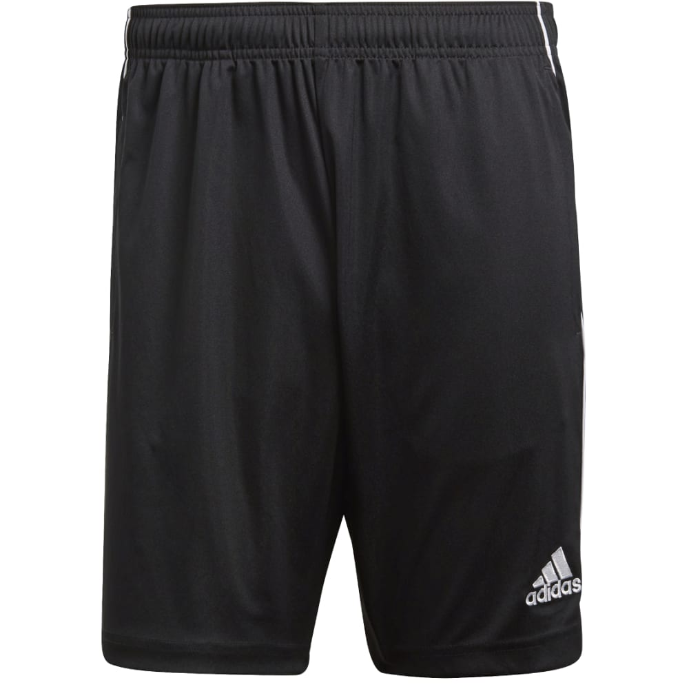 ADIDAS Men's Core 18 Training Shorts - BLACK/WHT-CE9031