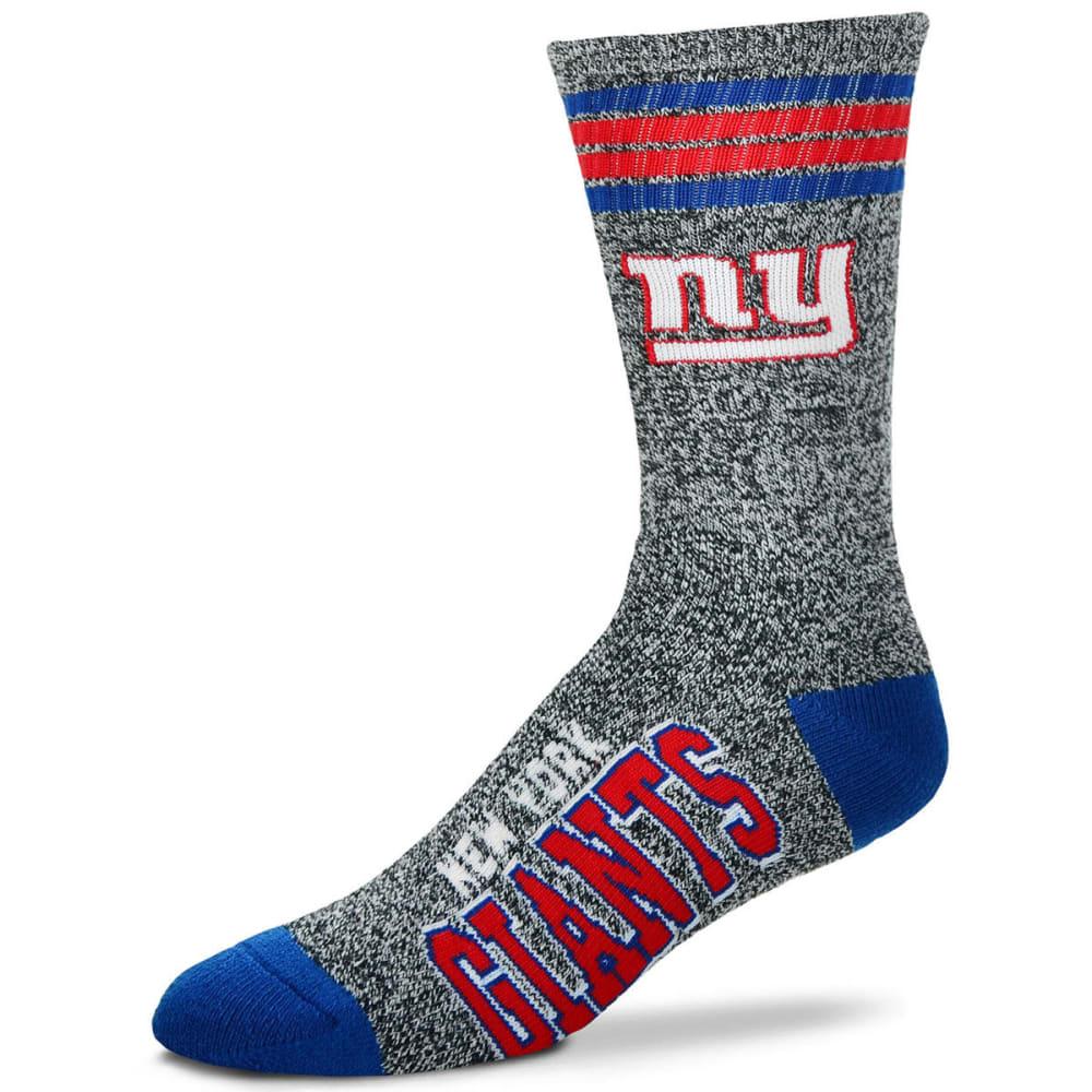 NEW YORK GIANTS Got Marbled Crew Socks - GREY