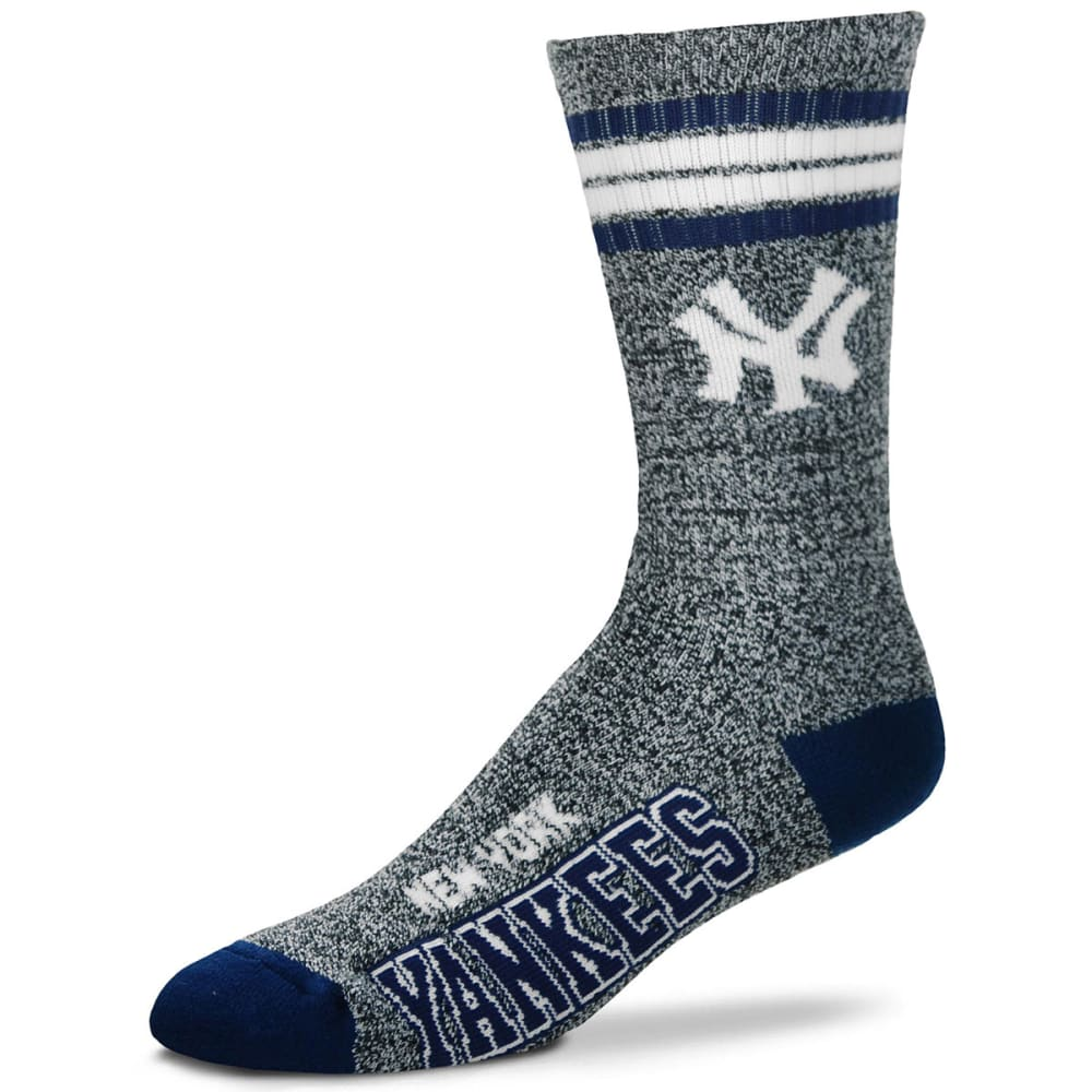 NEW YORK YANKEES Got Marbled Crew Socks - GREY