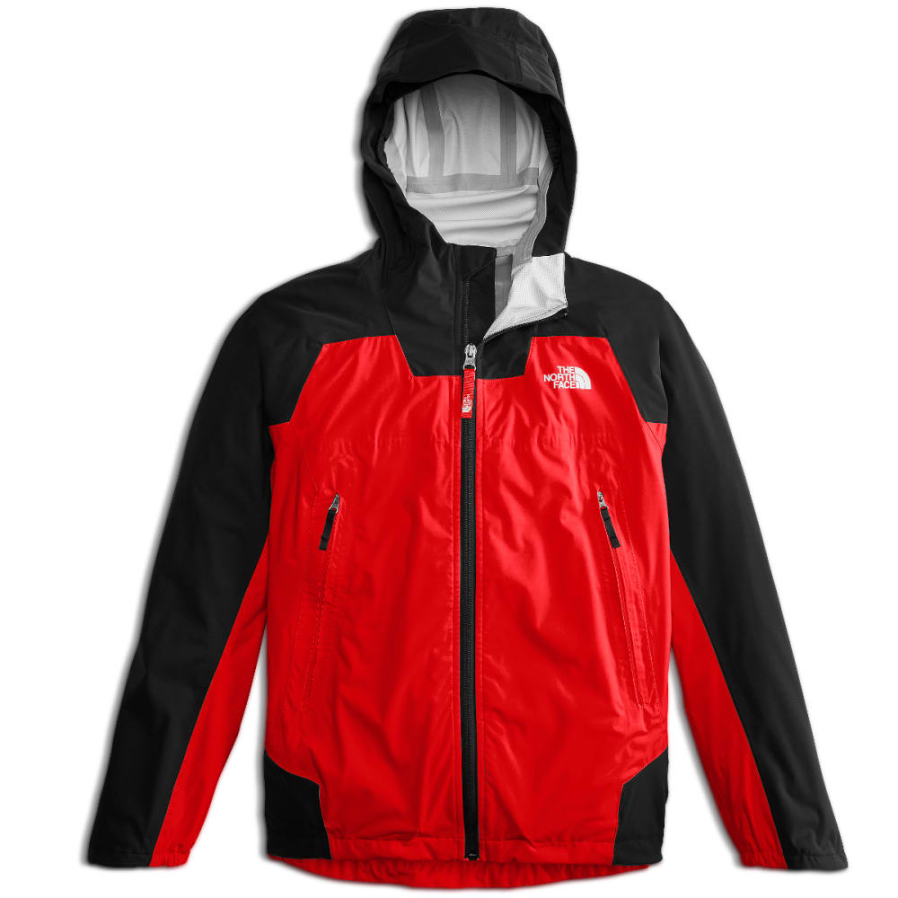 The North Face Big Boys' Allproof Stretch Jacket - Red, XS