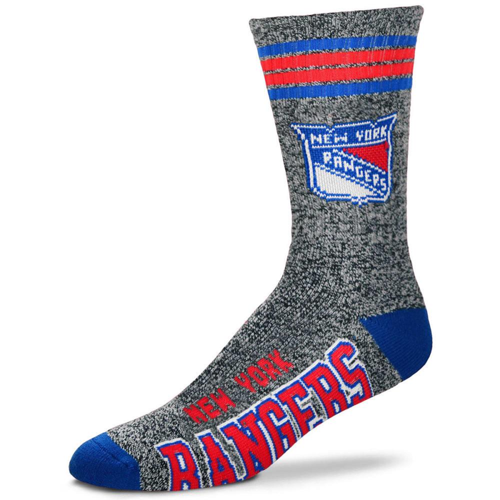NEW YORK RANGERS Got Marbled Crew Socks - GREY
