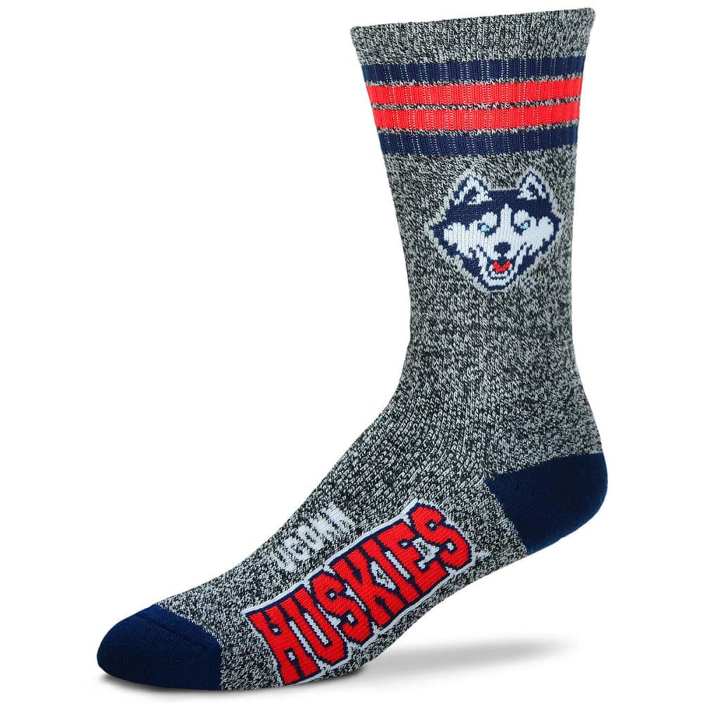 UCONN Got Marbled Crew Socks - GREY