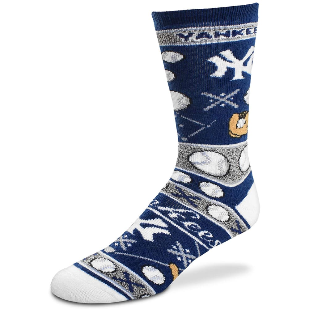 NEW YORK YANKEES Super Fan Socks - NAVY