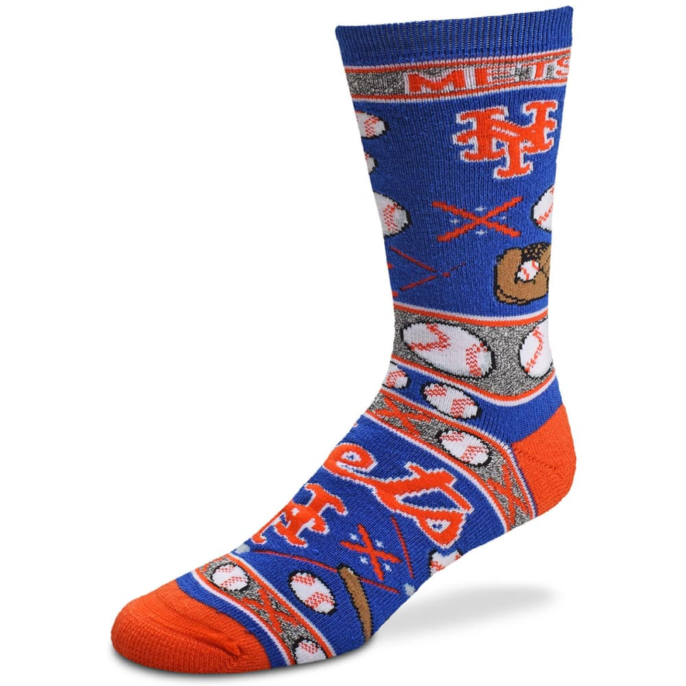 NEW YORK METS Super Fan Socks - ROYAL BLUE