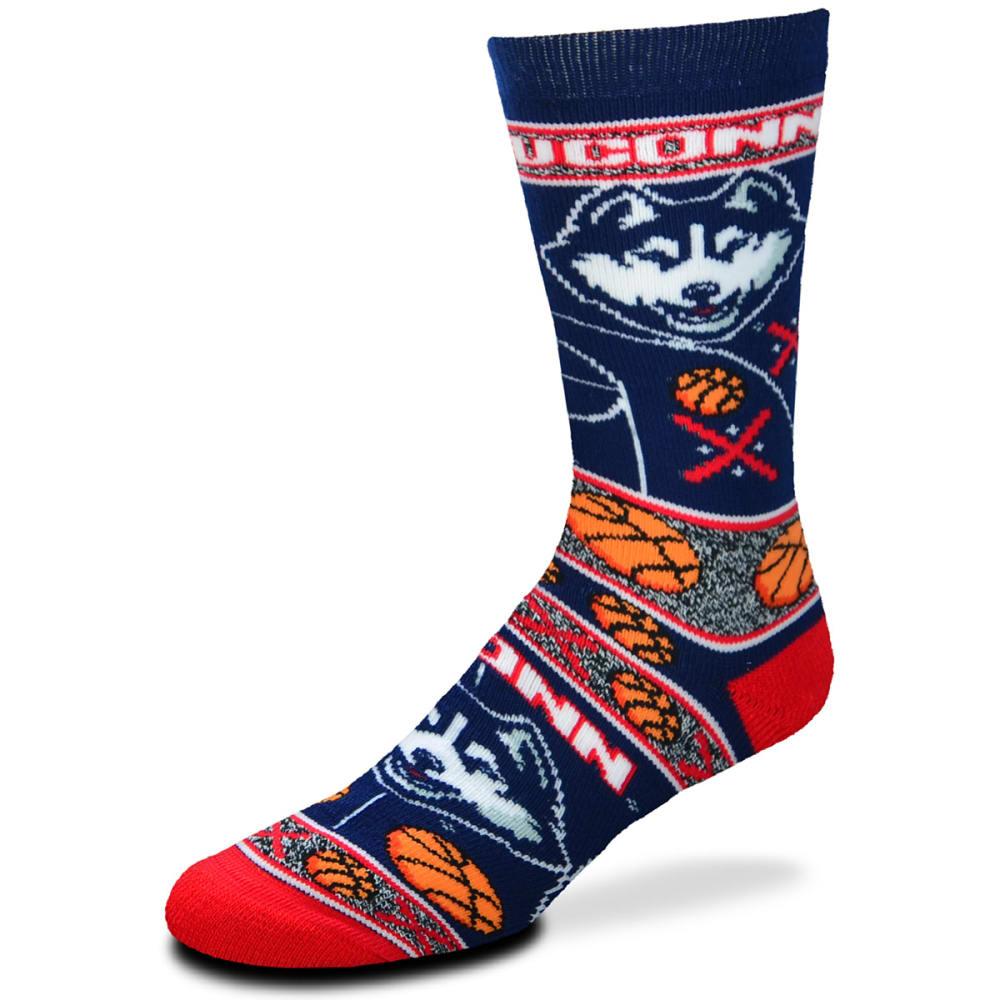 UCONN Super Fan Socks - NAVY