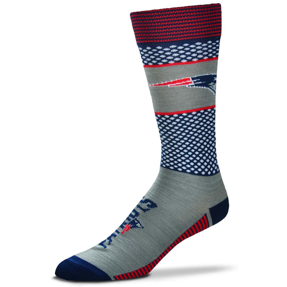 NEW ENGLAND PATRIOTS Muchas Rayas Tall Socks - NAVY