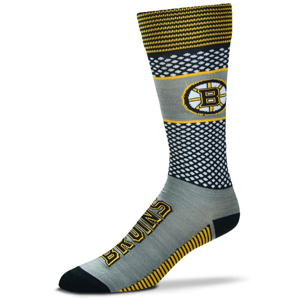 BOSTON BRUINS Muchas Rayas Tall Socks - BLACK