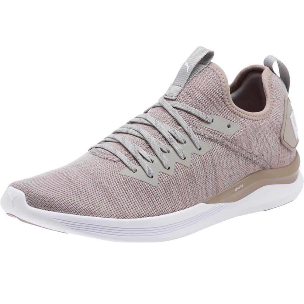 PUMA Men's IGNITE Flash EvoKNIT Running Shoes - ROCKRIDGE
