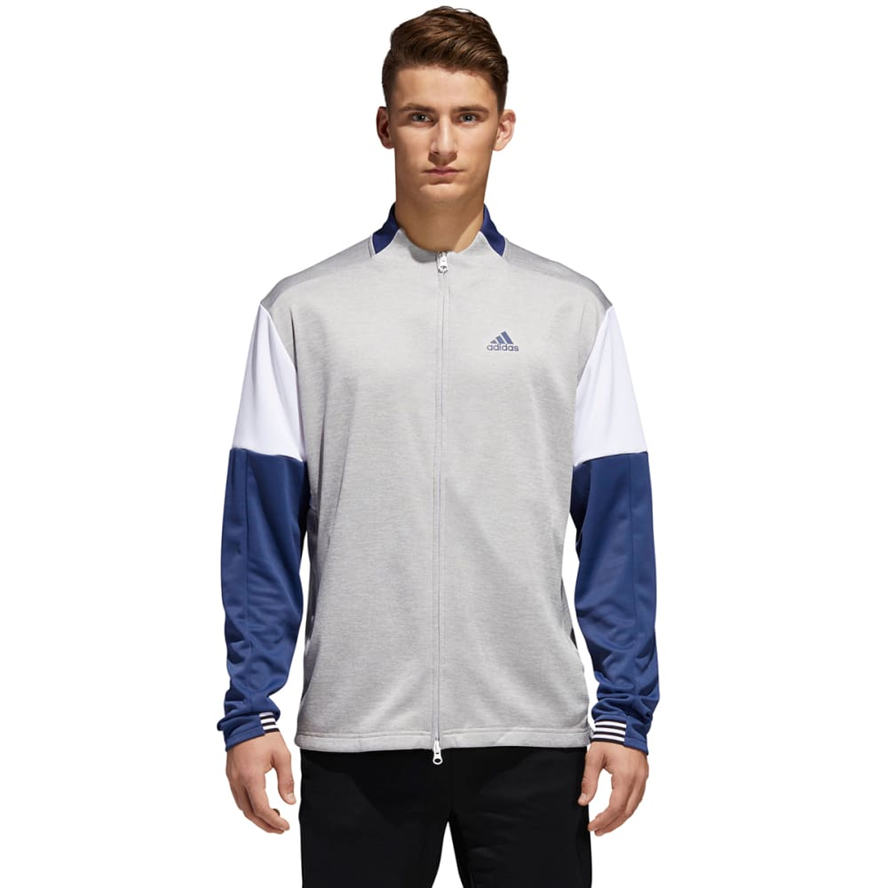ADIDAS Men's Team Issue Lite Bomber Jacket - GRY/NOBLEINDG-CV3186