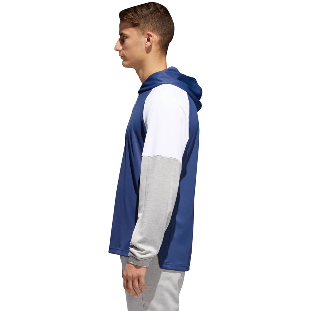 ADIDAS Men's Team Issue Lite Pullover Hoodie - IND/WHT/GRY-CV3181