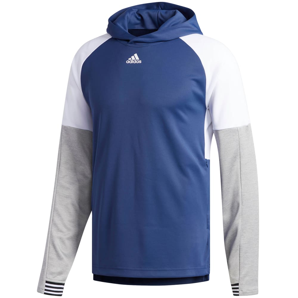 Adidas Men's Team Issue Lite Pullover Hoodie - Blue, S