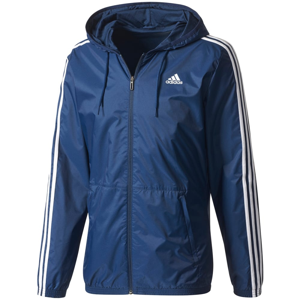 ADIDAS Men's Essentials 3-Stripes Wind Jacket XL