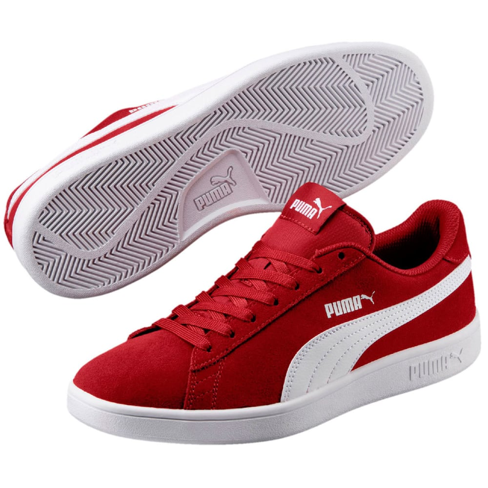 PUMA Men's Smash V2 Sneakers - RED