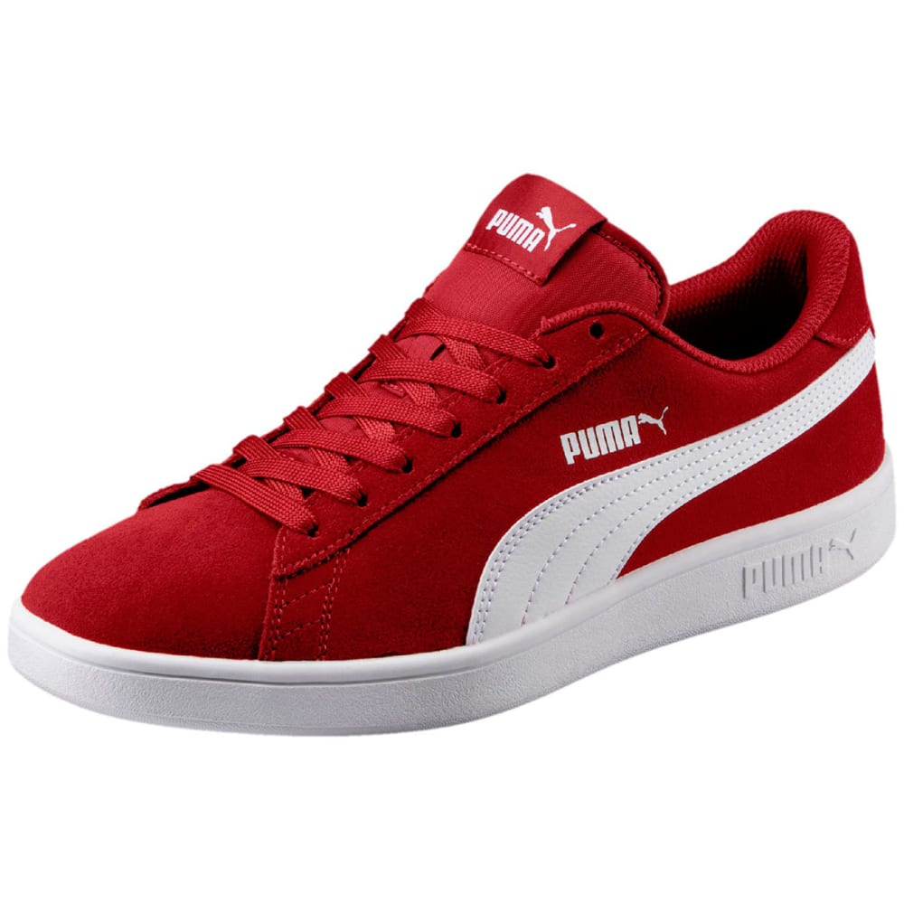 Puma Men's Smash V2 Sneakers - Red, 8