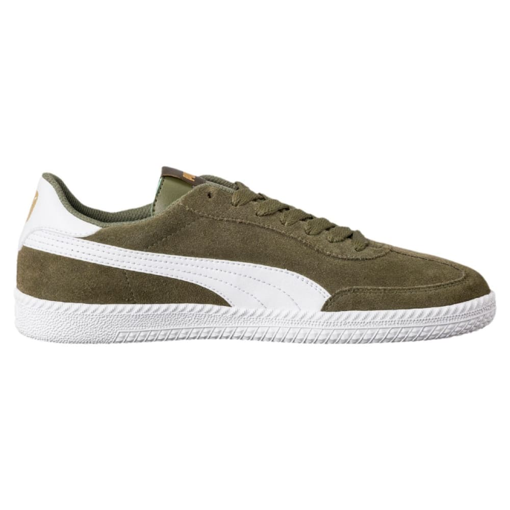 PUMA Astro Cup Suede Sneakers - OLIVE GREEN