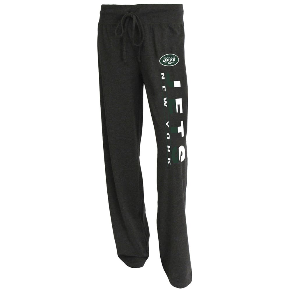 NEW YORK JETS Women's Lounge Pants - CHARCOAL