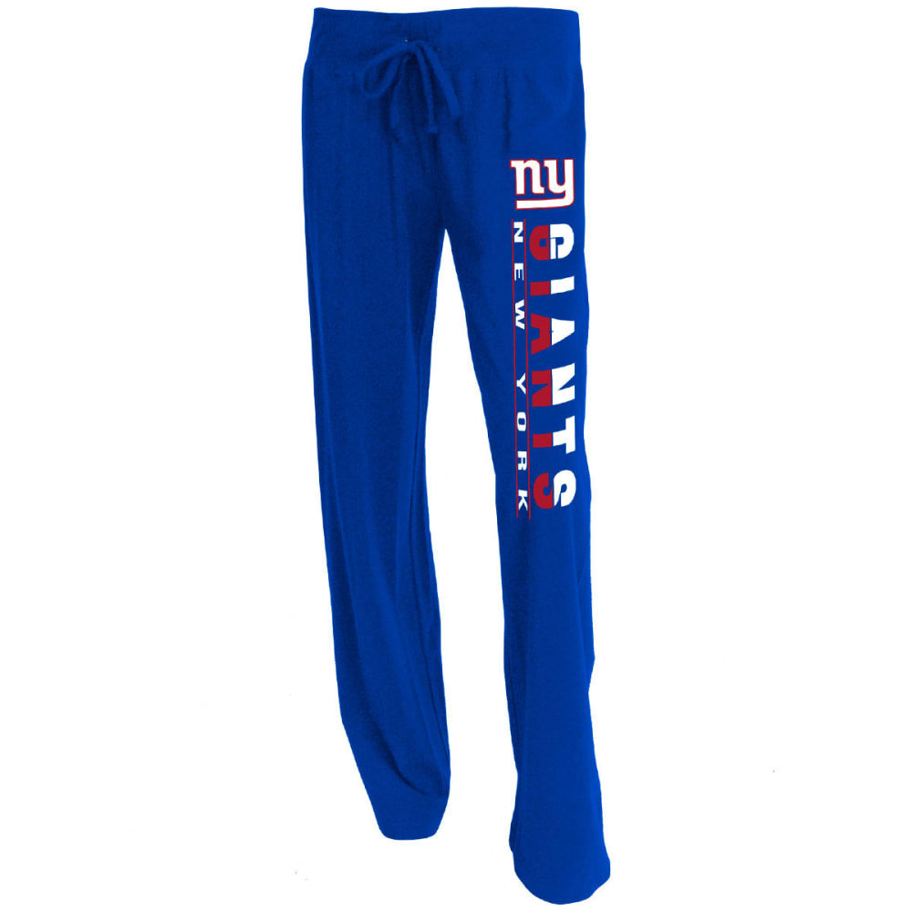 NEW YORK GIANTS Women's Lounge Pants - ROYAL BLUE