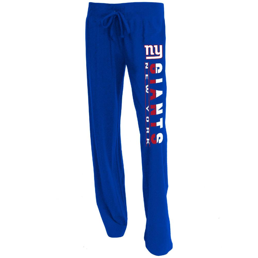 NEW YORK GIANTS Women's Lounge Pants - ROYAL BLUE