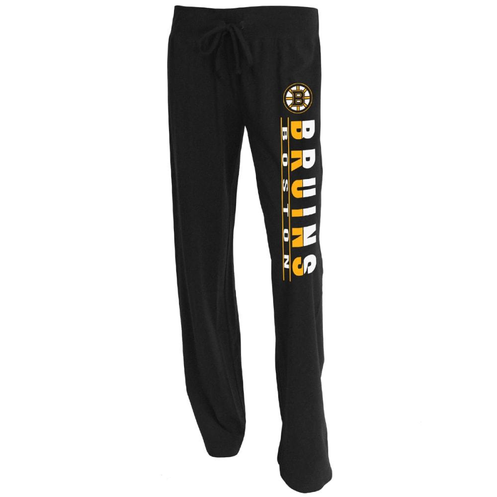 BOSTON BRUINS Women's Lounge Pants - BLACK