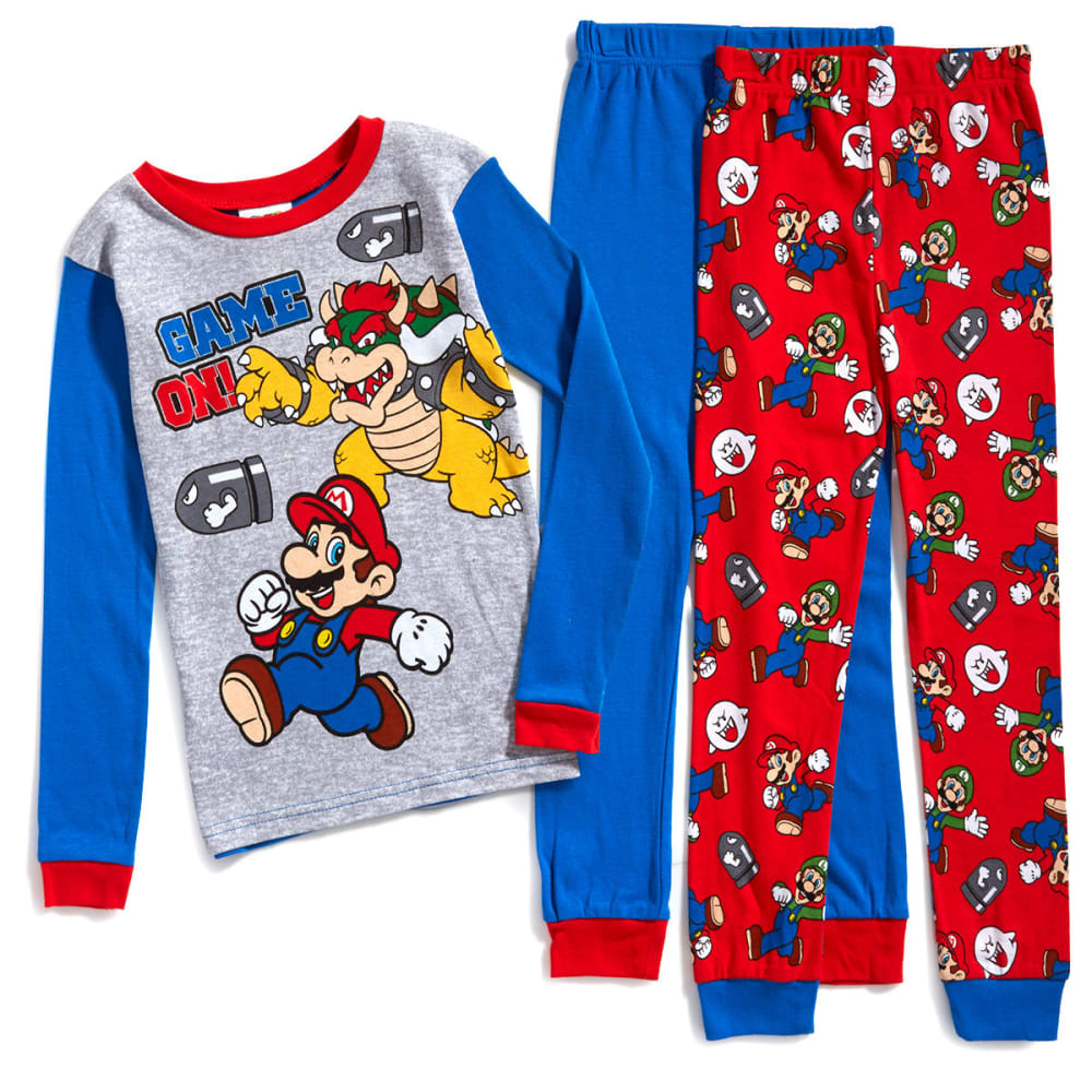 AME Boys' 3-Piece Super Mario Bros. Sleep Set - ASSORTED