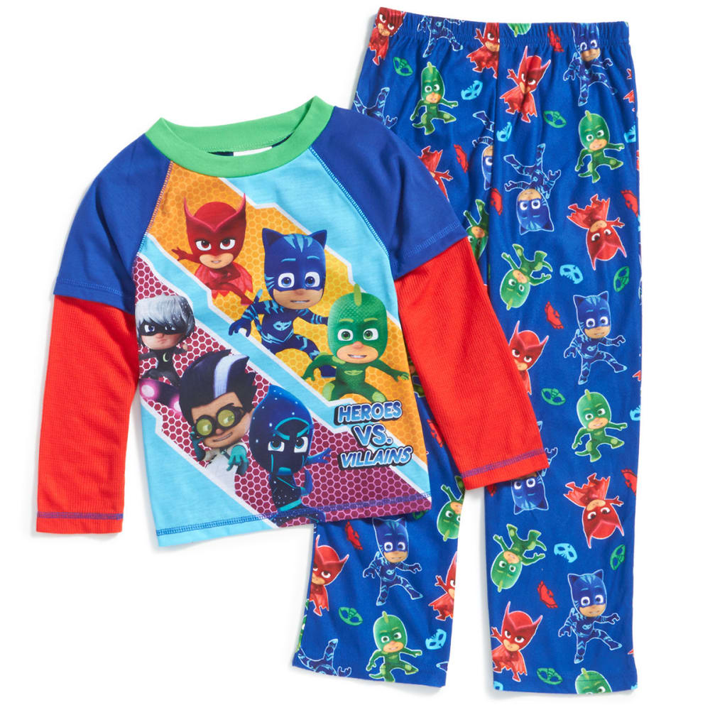 Ame Little Boys Two-Piece Pj Masks Sleep Set - Various Patterns, 4
