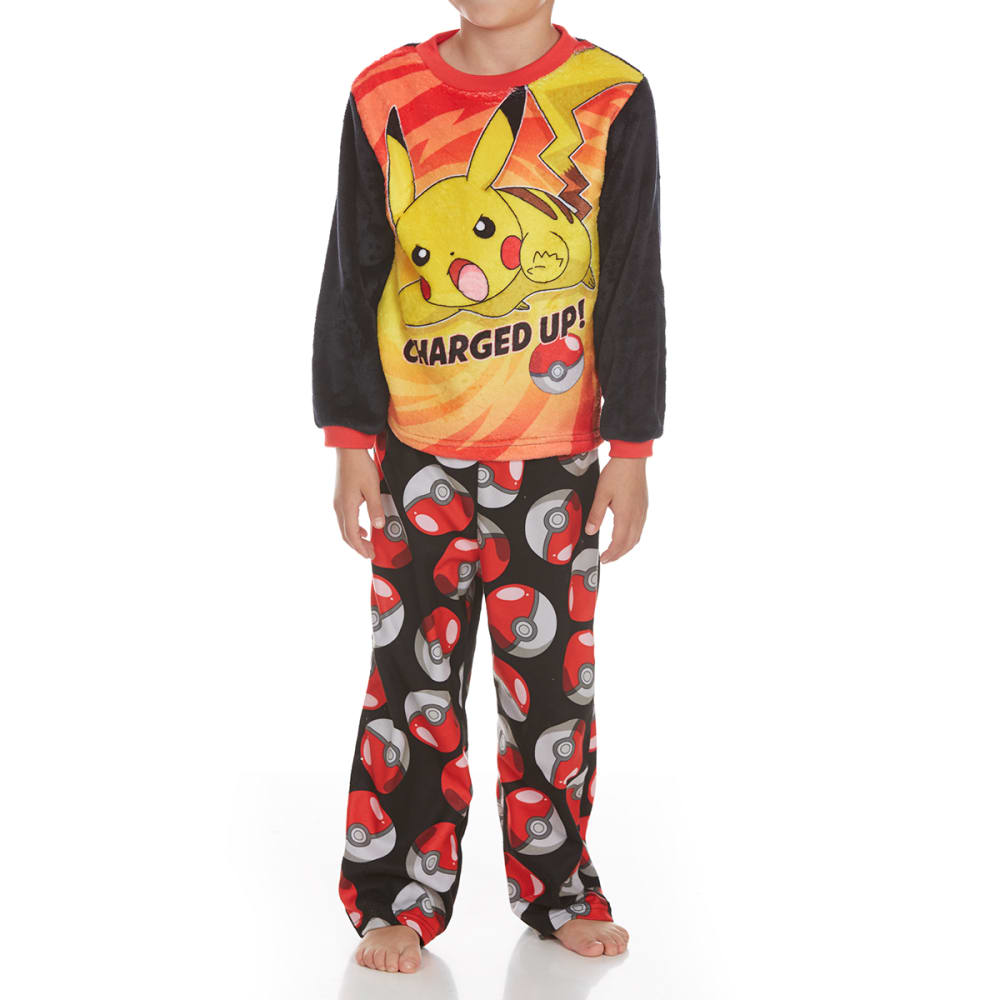 Ame Boys Two-Piece Pokemon Sleep Set - Various Patterns, 4